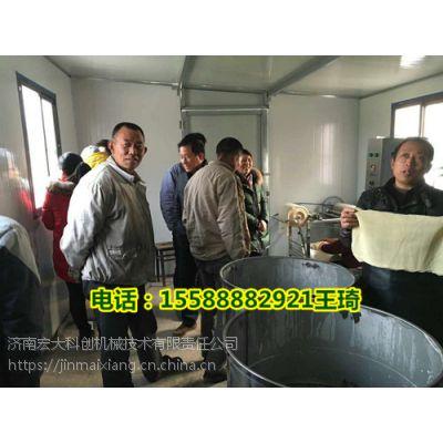 新型高产量豆腐皮机、仿手工豆腐皮机器