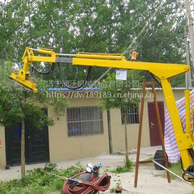 润沃厂家生产制造 市政绿化园林修剪机 灌木修剪车