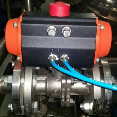 供应德国罗普RP-500系列气动法兰球阀