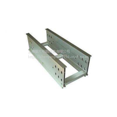 轻质铝合金高强密度桥架振大厂家成本低腰形孔