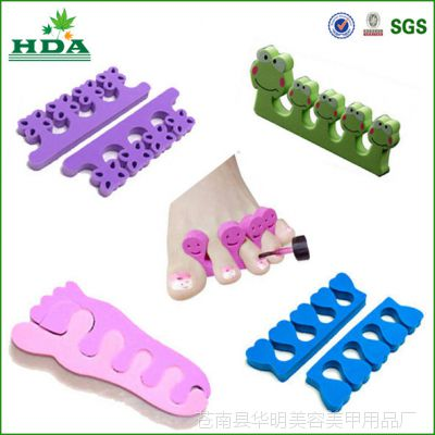 厂家直销EVA分指器 分趾器 海绵分指器 美容美甲分指器批发定制