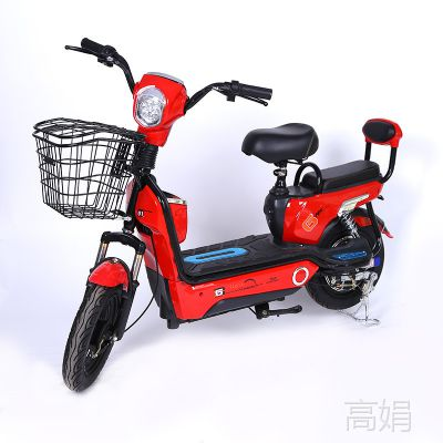 厂家直销电动车批发爱玛同款两轮成人赠品车大头骏马电动自行车