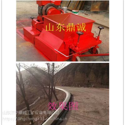 青岛市公路拦水带成型机 鼎诚制造沥青砂拦水带成型机