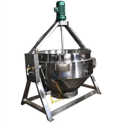 天津夹层锅燃气式蒸煮锅不粘锅炒锅不锈钢炊具