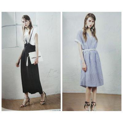 杭州一线时尚品牌女装她图品牌折扣库存尾货