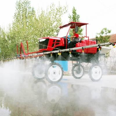 山东金原JY3WPZ-700B型轮距可调自走式打药机机械 自走式喷杆喷雾机 四轮喷杆式喷雾机