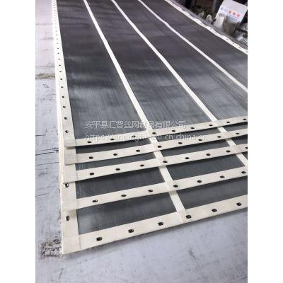 筛网定制直销 不锈钢帆布包边筛分过滤网 筛面加筋固定