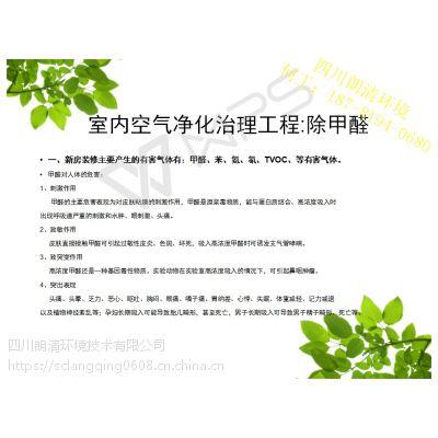 四川成都装修室内空气净化工程 除甲醛 除雾霾PM2.5