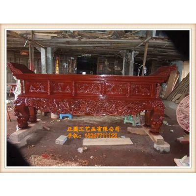 正圆木雕寺庙大殿供桌厂家,木雕供桌生产厂家