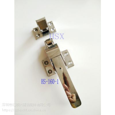红顺兴烤箱6寸拉手门扣雀锁传递箱拉手 机械设备门把手 烘箱锁 蒸柜拉手HS-160-1
