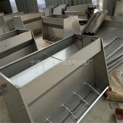 猪用不锈钢料槽育肥猪保育猪一体不锈钢料槽干净卫生减少肠道疾病