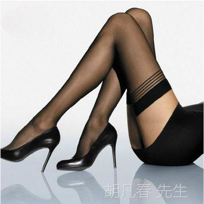 夏装超薄长筒袜 长统丝袜情趣性感特价高筒过膝袜白色黑色丝袜