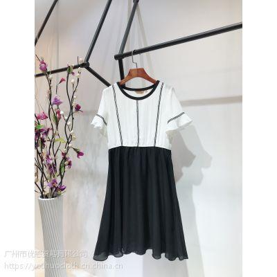 卡琦衣夏季时尚女装进货渠道 品牌折扣店货源 厂家直销分份走份