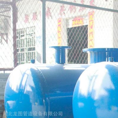 龙图管道丝扣分水器 大口径焊制分水器