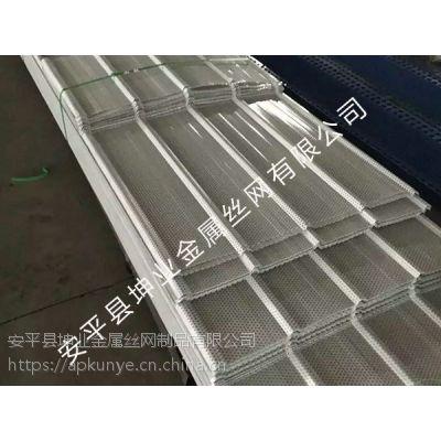 安平县坤业金属丝网墙面消音板圆孔网厂家