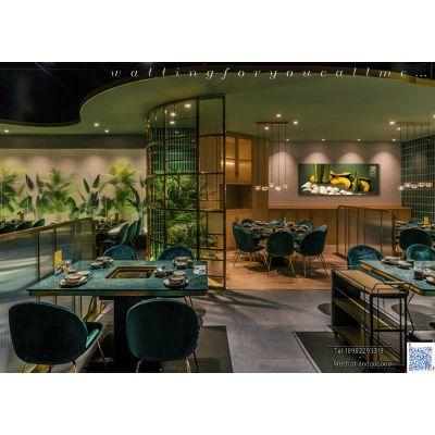 成都泰式餐厅装修设计 成都泰式火锅餐厅装修设计 成都精品餐厅装修设计