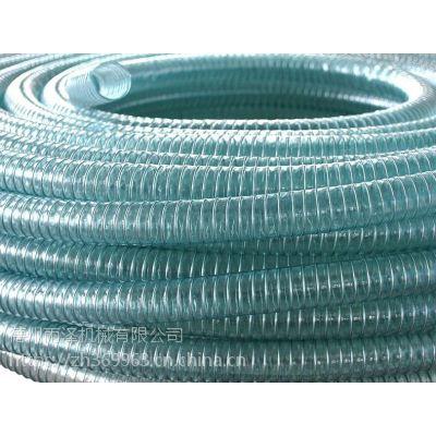 德州雨泽 塑胶供应无色透明全塑管,高弹性全塑管,pu防冻透明全塑管