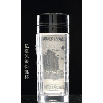 玻璃口杯报价定制山东聊城杯子市场阳谷亿泉口杯