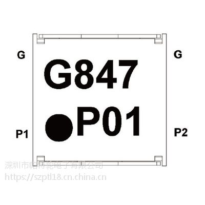 IL07BL0847AAE IL07BR0847AAE 贴片隔离器 partron 射频IC