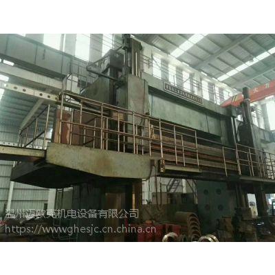 出售青岛6.3米双柱立式车床CK5263