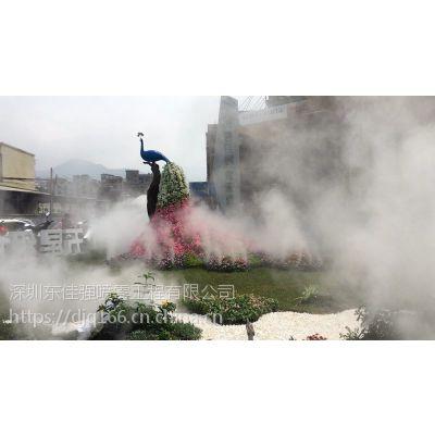 专注华南地区景观园林雾化湖面瀑布景观人造雾工程