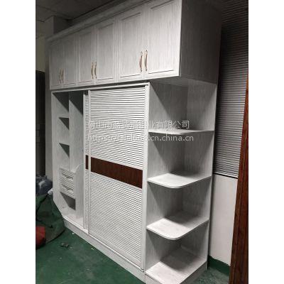 环保家居定制(全铝合金衣柜)蓝诗洛全铝衣柜