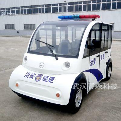 武汉蒂森科技4座封闭电动巡逻车