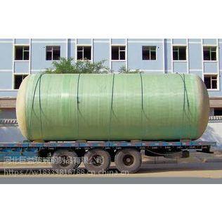 巨益成品玻璃钢化粪池-地埋式模压化粪池生产厂家