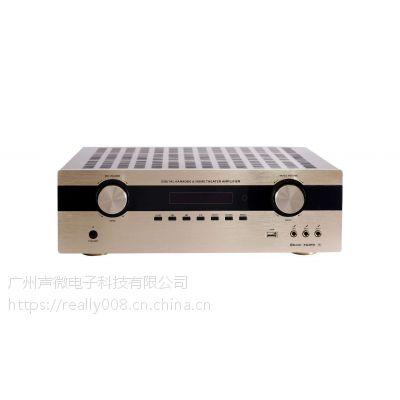 HD868影K7.1功放一款专业KTV与影吧一体机功放,让影K效果更加完美