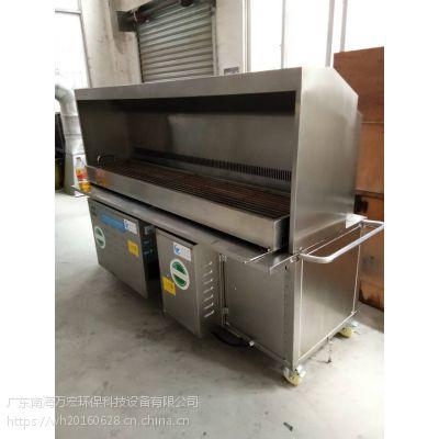 无烟烧烤车,净化器等烧烤设备 广东万宏厂家直销