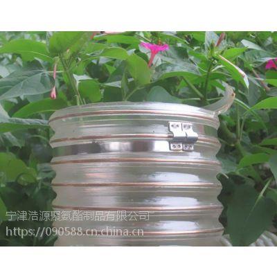PU钢丝软管【聚氨酯PU钢丝软管】,钢丝伸缩吸尘管