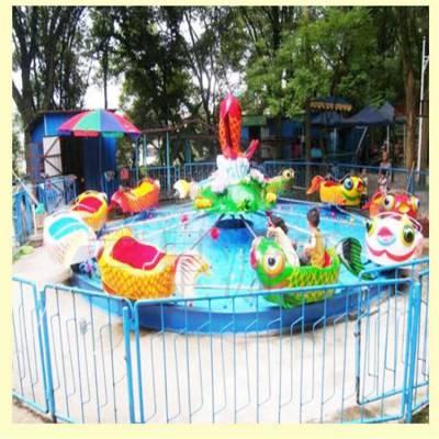 广场小型儿童游乐设施鲤鱼跳龙门刺激游乐项目