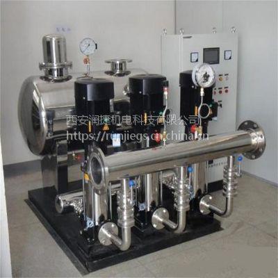 商洛厂家直销全自动智能PLC变频 商洛恒压无负压给水设备叠压供水设备 RJ-2691