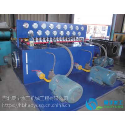 昊宇水工水利机械设备 河北大型液压启闭机 液压式启闭机械价格
