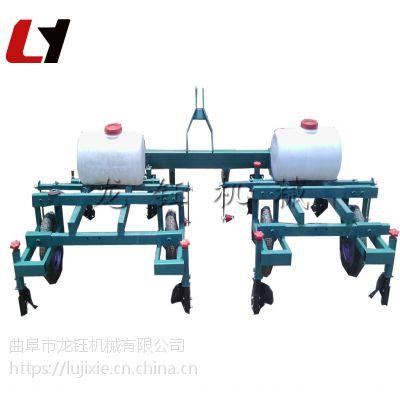 高产量大蒜地膜覆盖机 拖拉机带甘蔗盖膜机