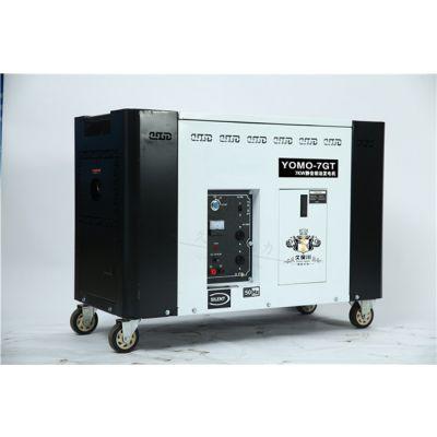7kw单缸静音柴油发电机体积
