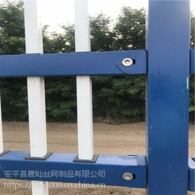 上海市政道路护栏锌钢护栏道路中央隔离护栏停车场隔离护栏厂