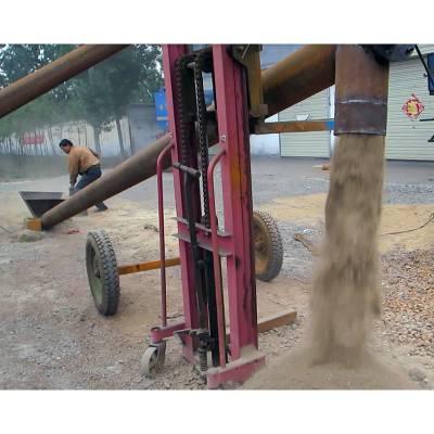 润丰垂直式不锈钢输送机 胶南倾斜式大管径上料机