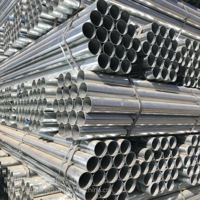 楚雄镀锌管厂家直销河北天创材质3091规格DN50X3每支重量26.82公斤