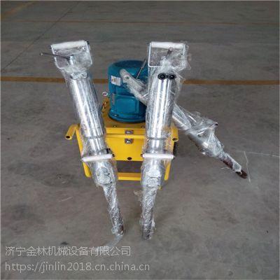 液压分裂机济宁金林机械电动分裂机一机2枪