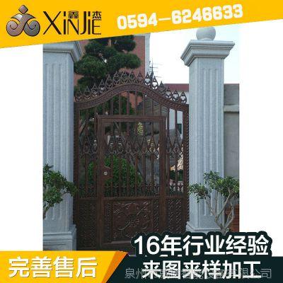 厂家直销 可定制 铸铝精雕门  整套门鑫杰铸铝门 XJ-8616