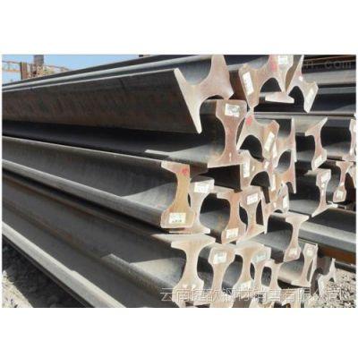 云南轻轨 昆明钢轨经销商 24kg/m 包钢 QU71Mn 用于轨道交通