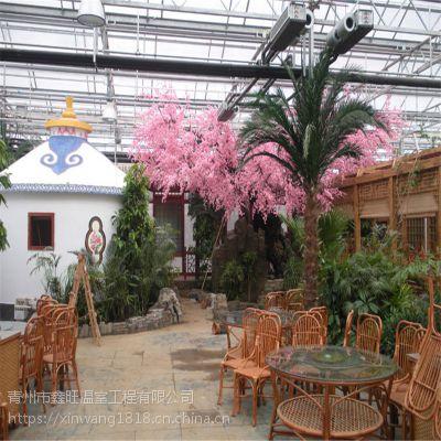 生态餐厅温室大棚建设工程生产厂家