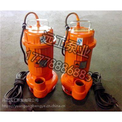 供应WQ潜水排污泵 防爆潜水排污泵 65WQ25-15-2.2污水处理泵