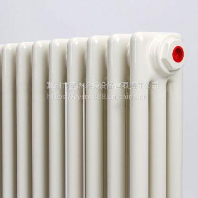 专业供应圣烨钢三柱暖气片GZ-3/600-1.0圆管3柱散热器