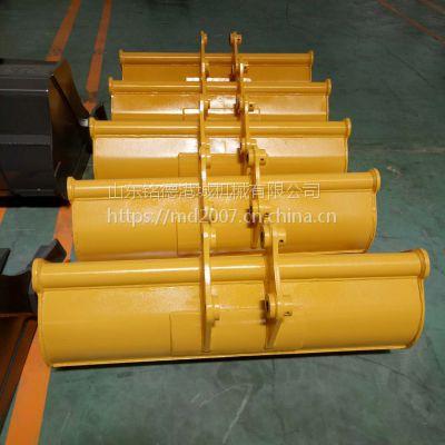 护坡斜坡刷坡斗 挖掘机便携式平坡斗 山东铭德制作 质量稳定