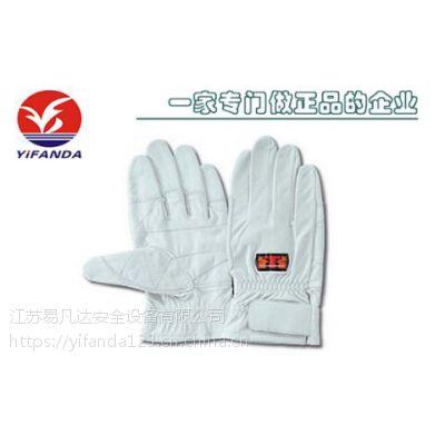 日本红蜻蜓TONBO抢险救援手套,C-409W防磨攀登消防比武训练手套