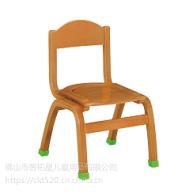 供应智拓星榉木水性环保漆堆叠幼儿园实木椅子(ZTX-0101)