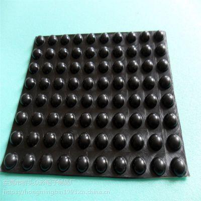 9.8*5mm半球形环保硅胶垫片 ROHS认证硅胶脚垫厂家