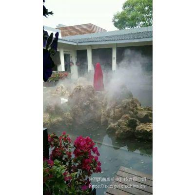 西安游乐园喷雾降温设备凯普威厂家直销